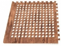 Leisurewize Interlocking Awning Floor Tiles - Wood Decking