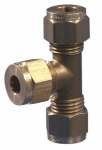 Gas Connector - 8mm (5/16'') Equal Tee
