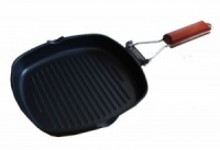 Sunncamp Griddle Pan With Folding Handle