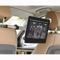 Streetwize Ipad, DVD & Tablet in Car Holder - Headrest Mounted Adjustable Bar
