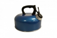 SunnCamp 2 Litre Camping Whistling Kettle - Blue