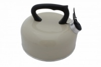 SunnCamp 2 Litre Camping Whistling Kettle - Cream