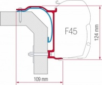 Fiamma F45 Awning Adapter Kit - Laika X 2008
