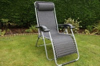Leisurewize Black Birley Relaxer Chair