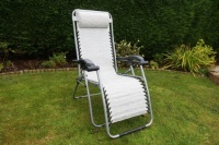 Leisurewize Silver Birley Relaxer Chair