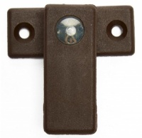 Plastic Turnbuckle (Dark Brown)