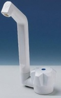Reich Deluxe Single Cold Water Tap in White