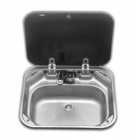 Smev 8005 Sink with Glass Lid