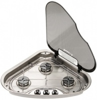 Spinflo 3 Burner Triangular Hob LH