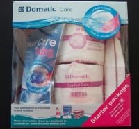 Dometic Triple Starter Pack (Tabs, Fresh Fluid & Toilet Paper)