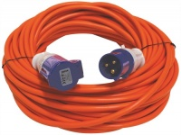 Leisurewize 25 Metre Mains Extension Lead Hook up Cable