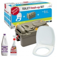 Thetford C400 Fresh Up Kit - Cassette / Toilet Seat / Chemicals