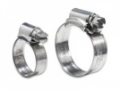 Hose Clips (pair) Zinc Plated