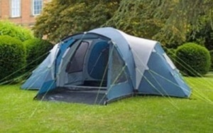 Royal Tucson 4 Tent With Carpet & Groundsheet