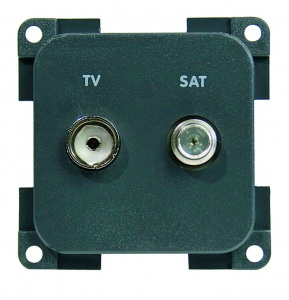 CBE TV + Satellite Socket