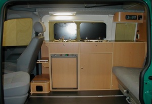 Furniture Kit for VW T5 SWB