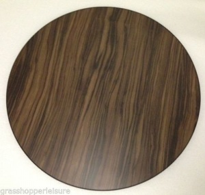 Walnut Round Wooden Table Top