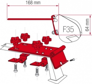 Fiamma F35 Awning Adapter Kit - Kit Standard