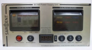 Sargent Silver EC160 Power Supply Unit Deluxe - Horizontal