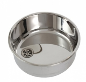 Can Round Stainless Steel Sink 360 (Polished)
