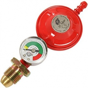 IGT Propane Screw On Gas Regulator With Level Gauge