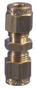 Gas Connector - 1/4'' - 5/16'' Straight Coupling