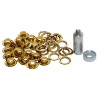 Brass Eyelet Kit (20 Piece)