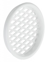 Round Plastic Push In Vent 55mm (pair)