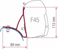 Fiamma F45 Awning Adapter Kit - Trafic / Vivaro 2001-2015