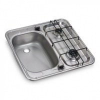 Dometic HS2460L 2 Burner Hob & Sink Combination Unit (Smev 927)