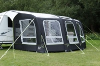 Leisurewize Skyliner 420 Caravan Single Inflation Point Air Porch Awning