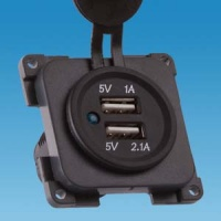 CBE 12v Twin USB Socket