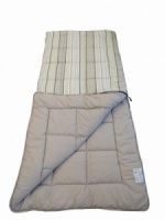 Sunncamp Grey Stripe Super King Size Single Sleeping Bag