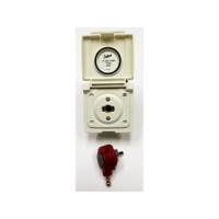 Bullfinch External Gas Outlet Point  - White