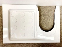 Shower Tray C220 RH (To Suit Thetford C223CS & C224CW Toilet)
