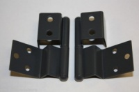 Reimo Style Furniture Hinges (pair) - Dark Grey
