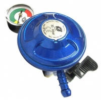 IGT Butane 21mm Clip On Regulator With Level Gauge