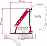 Fiamma F35 / F45 Awning Adapter Kit - Kit Auto