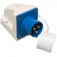 Sunncamp Mains Inlet Surface Mounted (angled) Socket