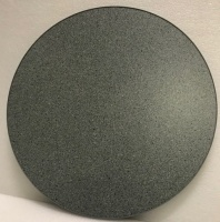 Mid Granite Round Wooden Table Top