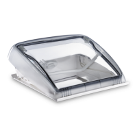 Dometic Seitz Mini Heki Style Rooflight Vent W/O Forced Ventilation