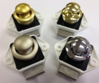 Mini Push Button Door Catch 15mm
