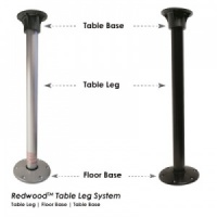 Redwood Table Leg And Base System