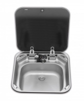 Dometic Smev 8006 Sink with Glass Lid