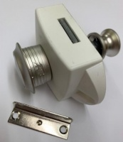 Toilet Door Push Button Catch 15mm
